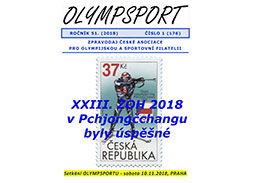New issue of the newsletter OLYMPSPORT 2018/1 (176)