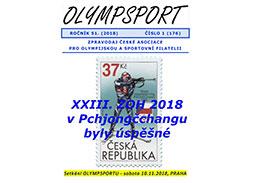 Nové číslo spravodaja OLYMPSPORT 2018/1 (176)