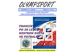 New issue of the newsletter OLYMPSPORT 2018/2 (177)