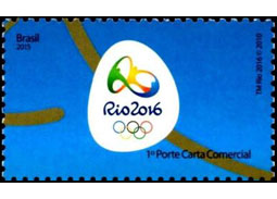 Sport and the Olympic Games - Summer Olympic Games RIO 2016 (stamps)