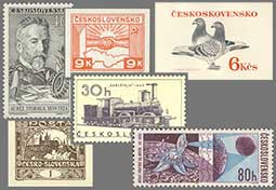 Mistakes, errors and inaccuracies on the Czechoslovak postage stamps and other postal materials