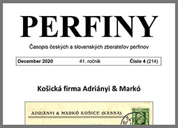 New issue of the journal PERFINY 2020/4 (214)