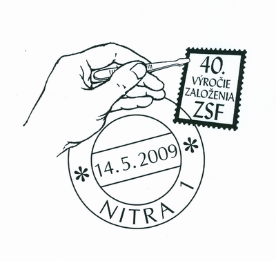 Commemorative Postmark 40th anniversary of ZSF