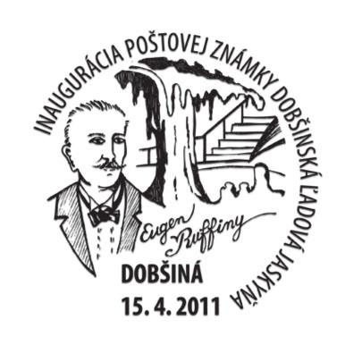 Príležitostná poštová pečiatka Inaugurácia poštovej známky Krásy našej vlasti: Dobšinská ľadová jaskyňa
