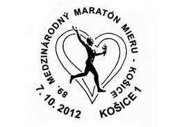 Commemorative Postmark 89th International Peace Marathon