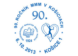 Commemorative Postmark 90th year of the Košice Peace Marathon