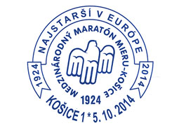 Commemorative Postmark 90 years of the Kosice Peace Marathon - Kosice