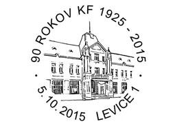 Pr�le�itostn� pe�iatka 90 rokov klubu filatelistov vLeviciach