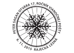 Opening of the Christmas Post in Rajecka Lesna