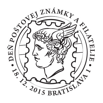 Commemorative Postmark Day of Postage Stamp and Philatelie 2015