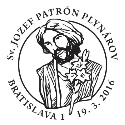 Commemorative Postmark St. Joseph - the Patron of Gasmen