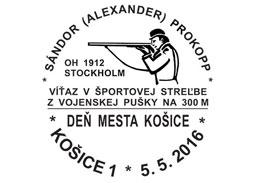 Sándor (Alexander) Prokopp - Deň mesta Košice 2016