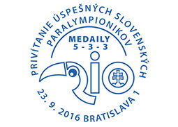 Commemorative Postmark Welcoming of the successful Slovak Paralympians - Rio 2016