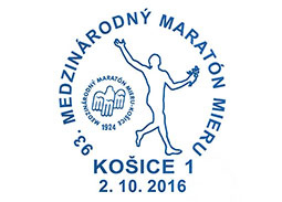 Commemorative Postmark 93rd International Peace Marathon