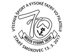 Výstava Šport a Vysoké Tatry vo filatelii