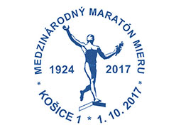 Commemorative Postmark 94th International Peace Marathon