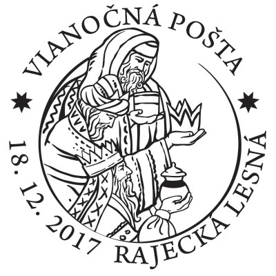 Commemorative Postmark Christmas Post 2017 - 4th Advent week