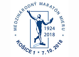 Commemorative Postmark 95th International Peace Marathon
