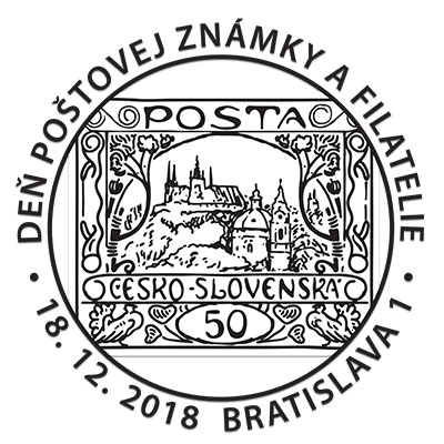 Commemorative Postmark Day of Postage Stamp and Philatelie 2018