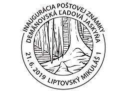 Inauguration of the postage stamp Demanovska Ice Cave