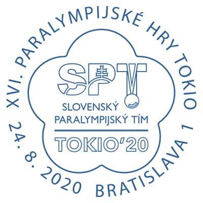 Inauguration of the postage stamp XVI Summer Paralympic Games Tokyo 2020