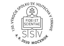 150th anniversary of the founding of the Society of St. Vojtech in Trnava (Mocenok)