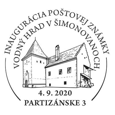 Inauguration of the postage stamp Beauties of our Homeland: Manor-house Water Castle in Simonovany