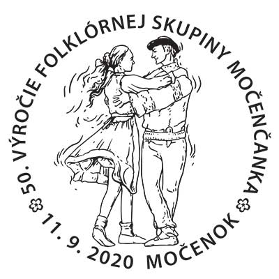 50th anniversary of the folklore group Močenčanka
