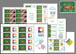 The offer of personalized printing sheets with the stamp Folk Motif