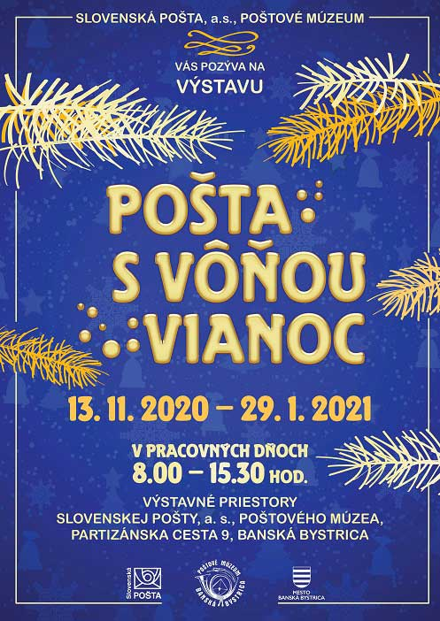 Exhibition MAIL WITH THE SMELL OF CHRISTMAS in Banska Bystrica (Slovakia)