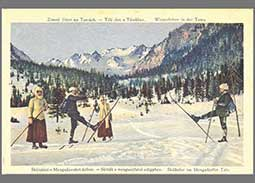 Producers of Tatra Mountains postcards from the territory of Slovakia in the years 1919 -1950