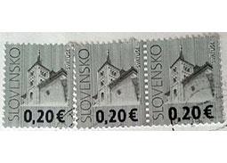 SLOVENSKO alebo SLOVLNSKO? - Zaujímavosť na známke Kostol vo Svätušiach