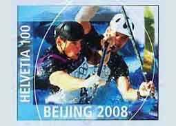 Hochschornerovcom fandia aj vo Švajčiarsku - slovenskí olympijskí víťazi na švajčiarskej celinovej pohľadnici