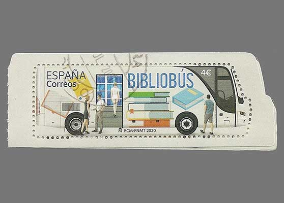 Other news Spanish issue BIBLIOBUS in booklet design (2020)