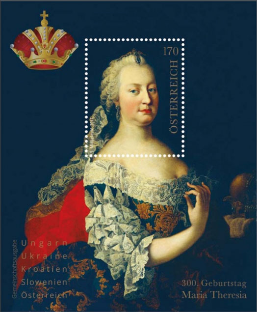 New issues, inaugurations, the most beautiful stamps 300th birth anniversary of Maria Theresa - An incomprehensibly missed opportunity