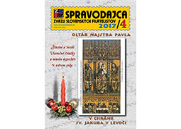New issue of the journal SPRAVODAJCA ZSF 2017/4
