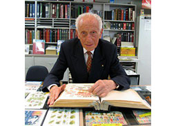 Max Stern is a famous philatelist, who survived Holocaust