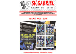 New issue of the bulletin Svätý Gabriel 2016/2 (84)
