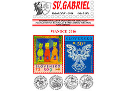 New issue of the bulletin SV. GABRIEL 2016/5 (87)