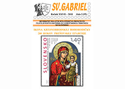 New issue of the bulletin SV. GABRIEL 2018/3 (95)