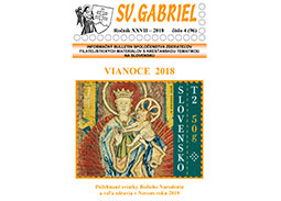 New issue of the bulletin SV. GABRIEL 2018/4 (96)