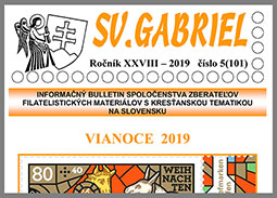 New issue of the bulletin SV. GABRIEL 2019/5 (101)