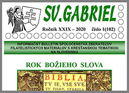 New issue of the bulletin SV. GABRIEL 2020/1 (102)