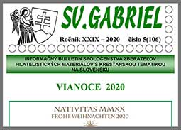 New issue of the bulletin SV. GABRIEL 2020/5 (106)