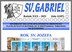New issue of the bulletin SV. GABRIEL 2021/1 (107)