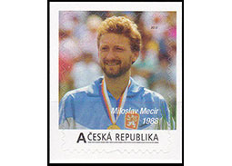 Tennis giants appear on postage stamps in the Czech Republic