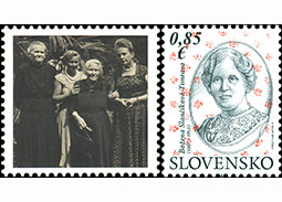 Photo report from the inauguration of the postage stamp Personalities: Božena Slanèíková-Timrava