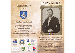 Photoreport from inauguration of the postage stamp Personalities: Jozef Miloslav Hurban (1817 - 1888)