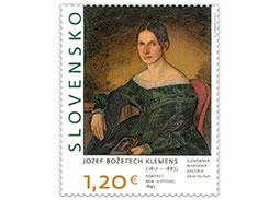 Slávnostné uvedenie poštovej známky Umenie: Jozef Božetech Klemens - Portrét pani Juppovej v Liptovskom Mikuláši