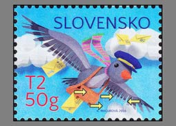 Production errors on the Slovak postage stamp Philately